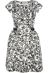 Moschino Cheap & Chic Floral Print Dress - Lyst