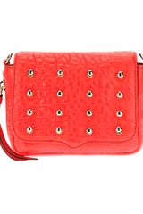 Rebecca Minkoff Studded Crossbody Bag - Lyst