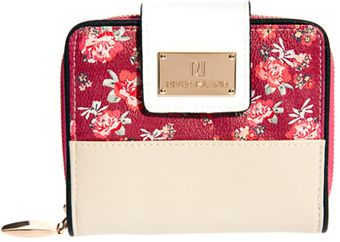 River Island Small Square Floral Zip Around Purse - Lyst