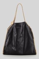 Stella McCartney Falabella Big Tote Bag Black - Lyst