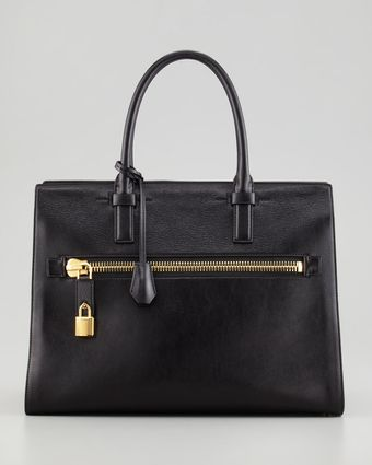 Tom Ford Charlotte Zip Pocket Tote - Lyst