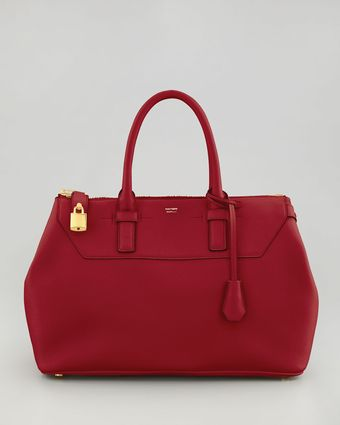 Tom Ford Petra Leather Tote - Lyst