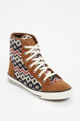 Tory Burch  Noah High Top Sneaker - Lyst
