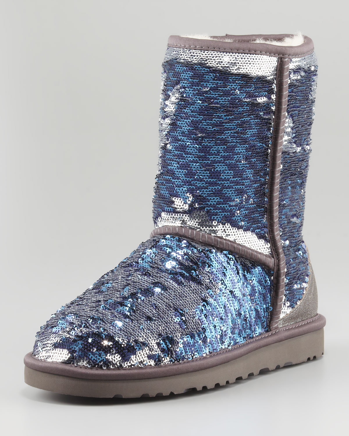 Lyst - UGG Sparkles Classic Short Boot Midnight Multi in Blue