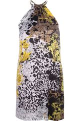 Versace Printed Tunic Dress - Lyst