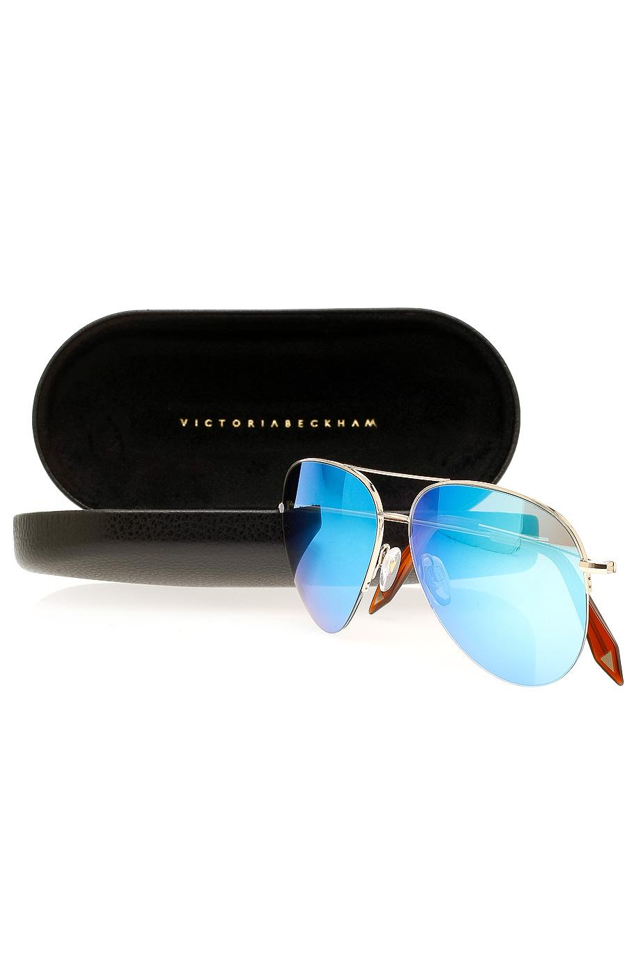 4a92954361 Victoria Beckham Sunglasses Classic Aviator « One More Soul