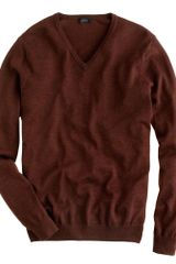 J.Crew Tall Merino V-neck Sweater - Lyst
