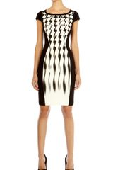 Karen Millen Signature Jersey Shift Dress - Lyst