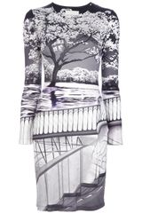 Mary Katrantzou Uppety Fitted Dress - Lyst