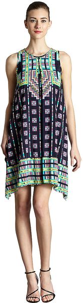 Muse Trapeze Dress - Lyst