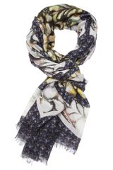 Peter Pilotto Abstract Pattern Scarf - Lyst