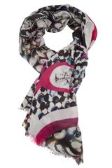 Peter Pilotto Multicolored Scarf - Lyst