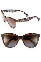 Prada Oversized Retro Sunglasses - Lyst