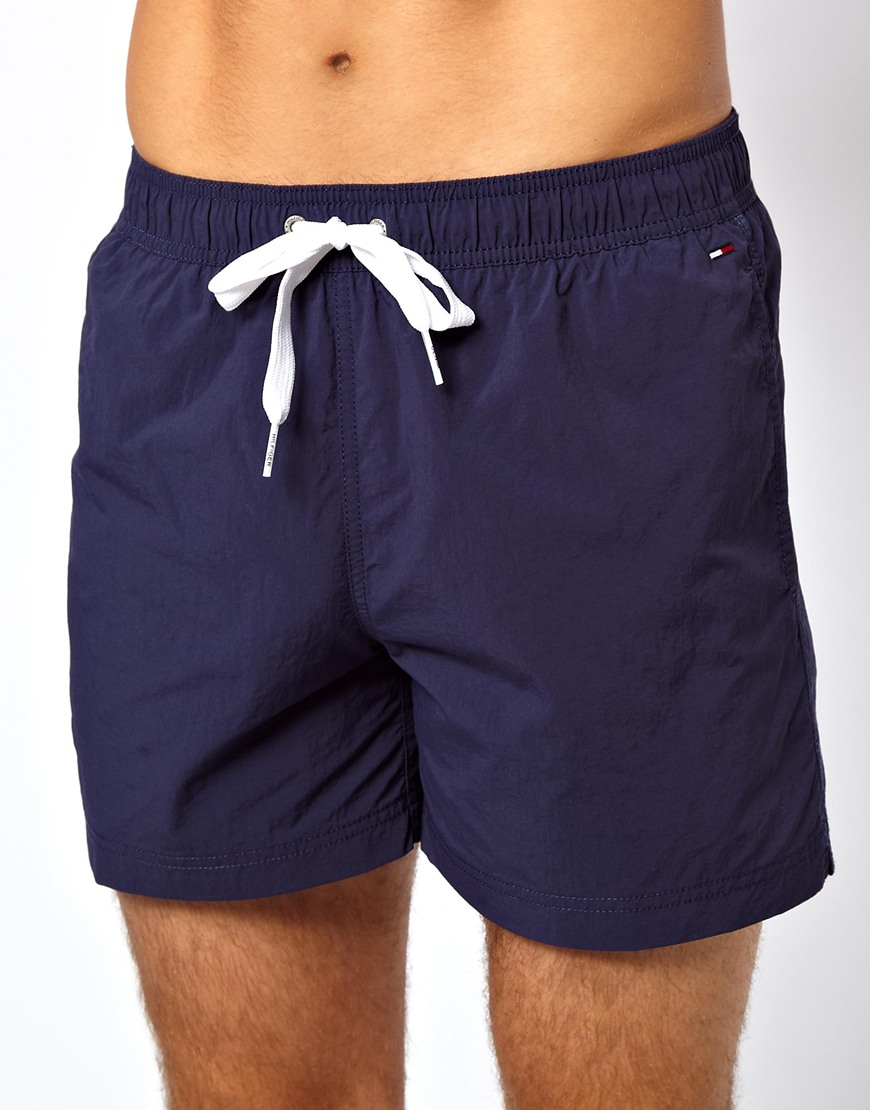 85b200b16b Tommy Hilfiger Denim Swim Shorts in Blue for Men - Lyst