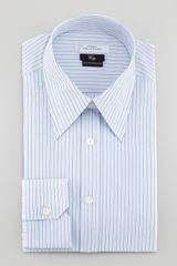 Versace Mixed Stripe Long-sleeve Shirt - Lyst
