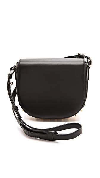Alexander wang Small Lia Sling Bag in Black | Lyst