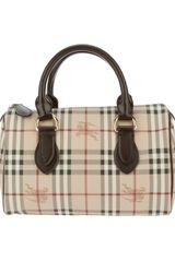 Burberry Chester Bowling Bag - Lyst