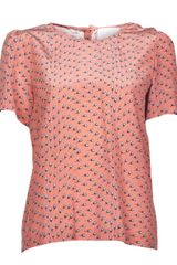 Girl. By Band Of Outsiders Tulip Blouse - Lyst