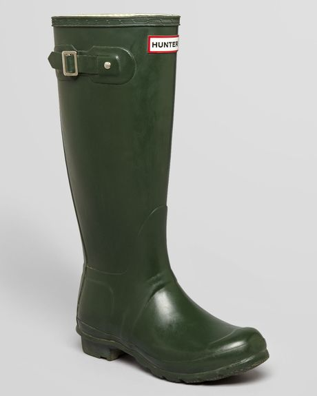 Elegant Electric Karma Highlands Women Rubber Green Rain Boot Boots