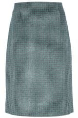 Marc Jacobs Aline Checked Skirt - Lyst