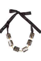 Marni Square Necklace - Lyst