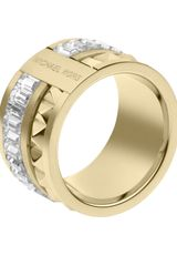 Michael Kors Pyramidbaguette Ring Golden - Lyst
