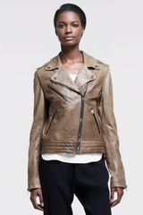 Rag & Bone Bowery Leather Motorcycle Jacket - Lyst