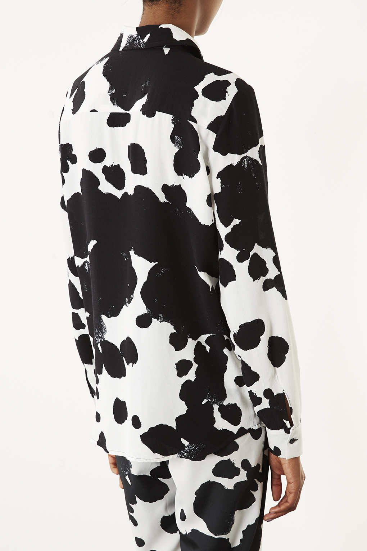 how to make a cow print shirt