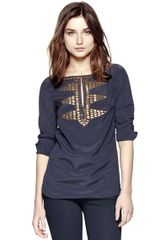 Tory Burch Samantha Tunic - Lyst