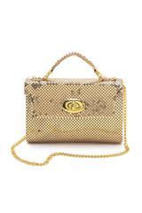 Whiting & Davis Chain Mail Mini Clutch - Lyst