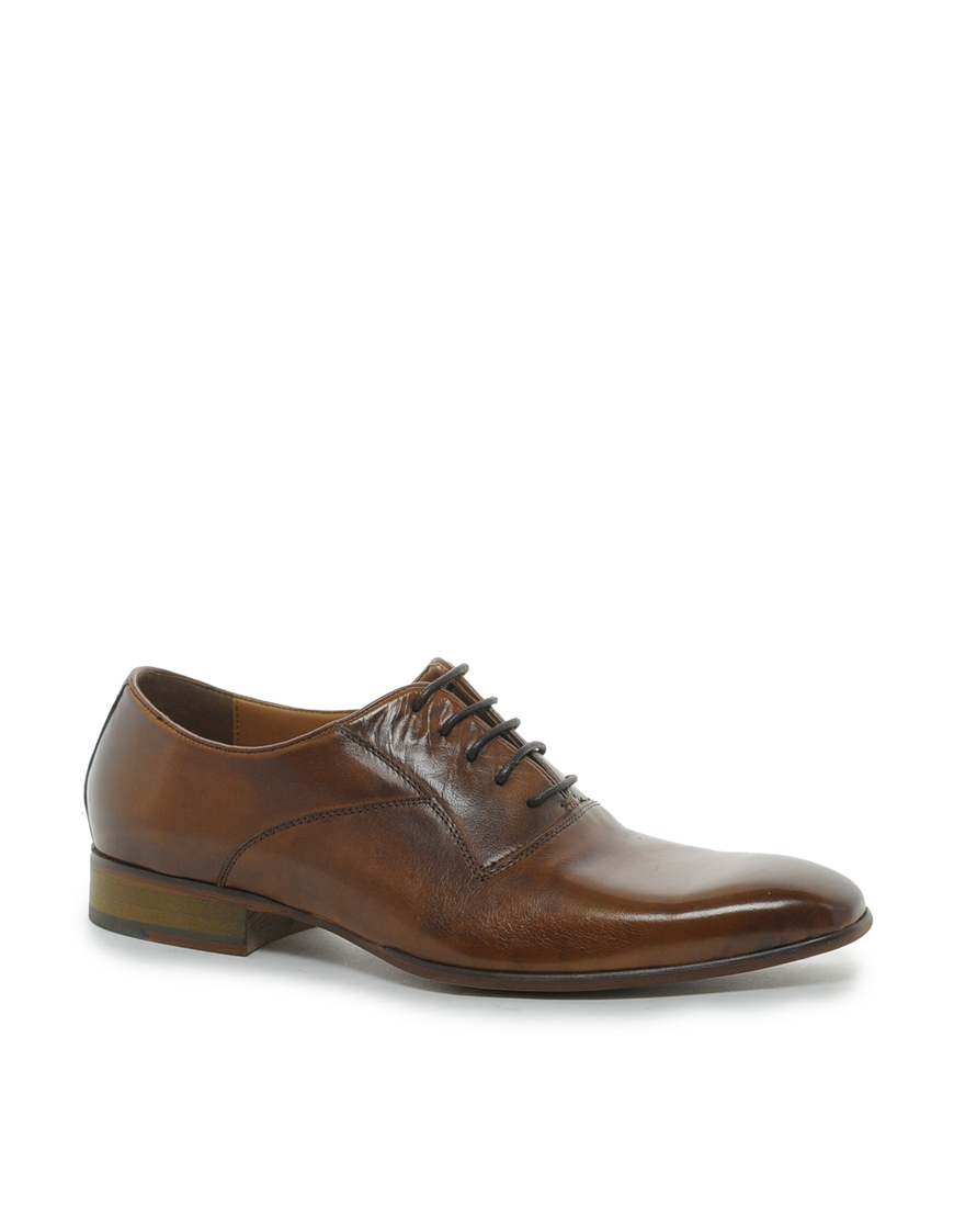 aldo colomy oxford shoes in brown for br1brown lyst