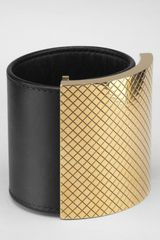 Bottega Veneta Leather Bracelet - Lyst