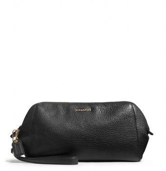 Coach Madison Zip Top Large Wristlet in Leather - Lyst