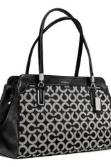 Coach Madison Kimberly Carryall in Op Art Sateen Fabric - Lyst