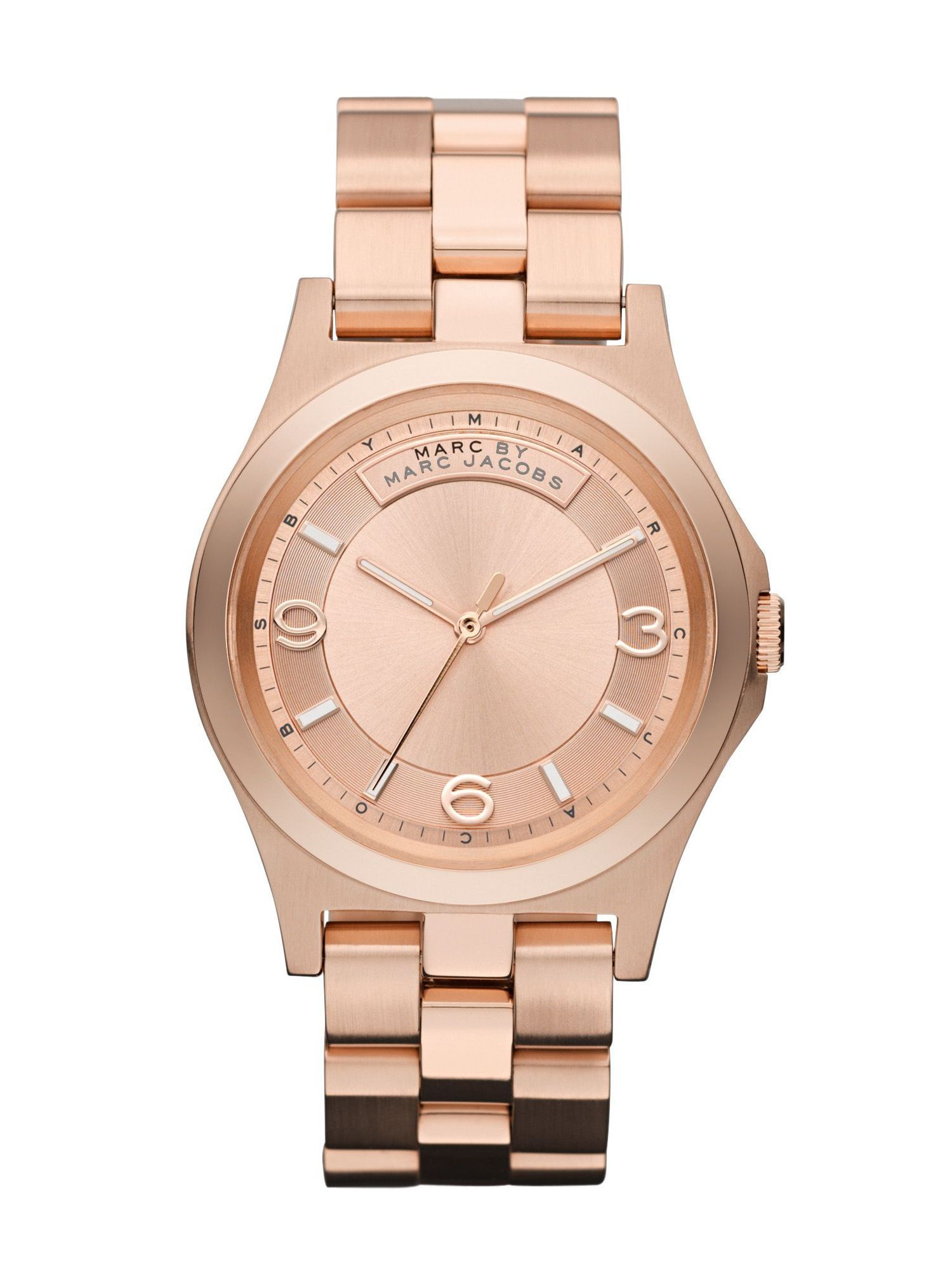 marc by marc jacobs baby dave mens watch in metallic for men lyst gallery