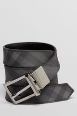 Burberry Webster Reversible Prong Belt - Lyst