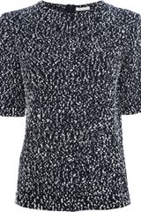 Chloé Wool Mix Top - Lyst