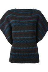 Jean Paul Gaultier Striped Sweater - Lyst
