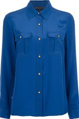 Marc By Marc Jacobs Button Down Silk Shirt - Lyst