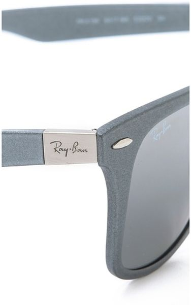 bb6a0a4c95323 Silver Ray Ban Wayfarer Sunglasses