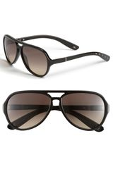 Bottega Veneta Aviator Sunglasses - Lyst
