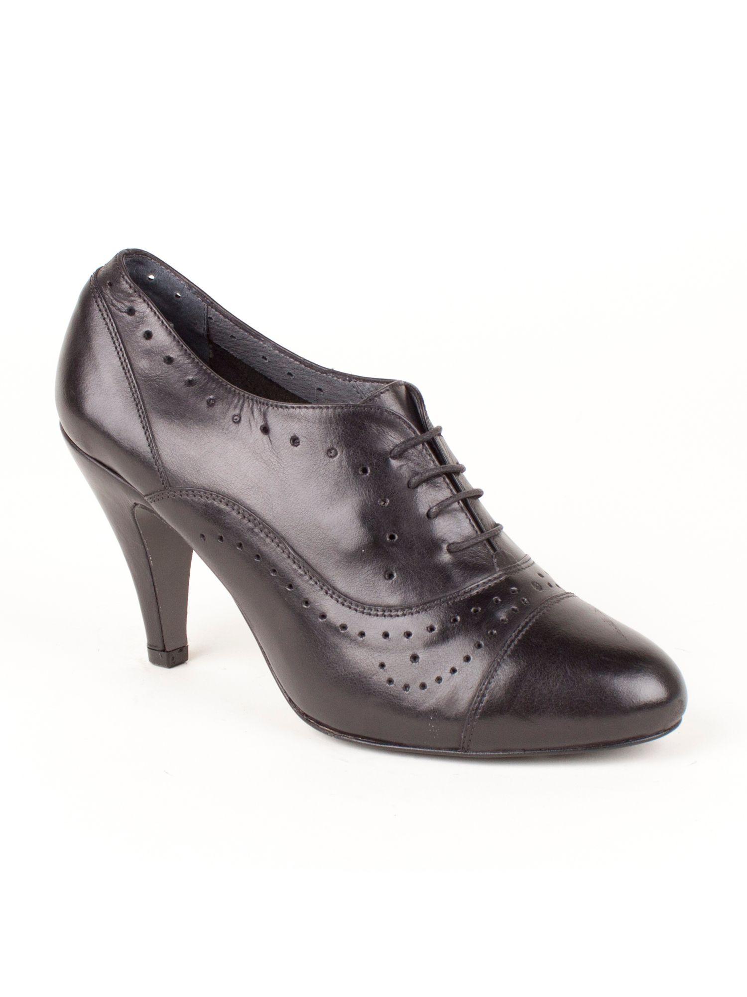 jones bootmaker cailin high heeled court shoe in black lyst