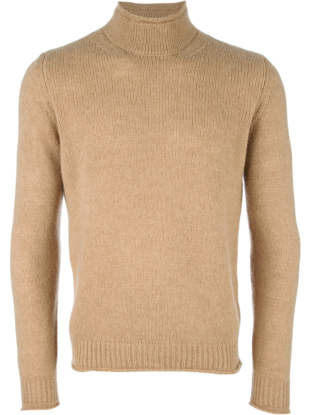 Roberto collina Turtleneck Sweater in Natural for Men | Lyst