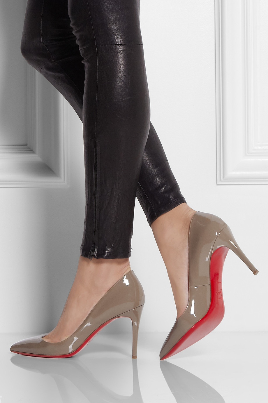 christian louboutin 85mm pumps