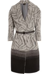 Fendi Brushed Alpaca and Woolblend Coat - Lyst