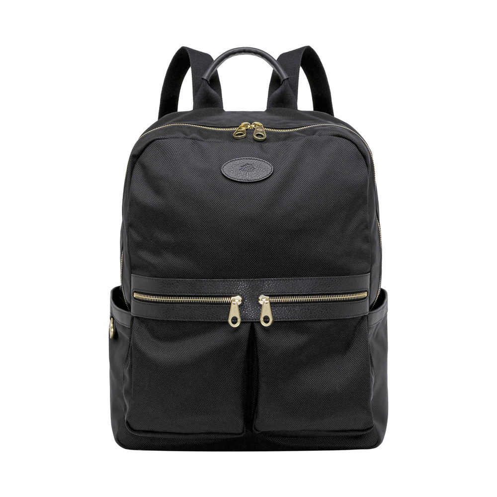 26ae55b3c9 Lyst - Mulberry Henry Backpack in Black for Men