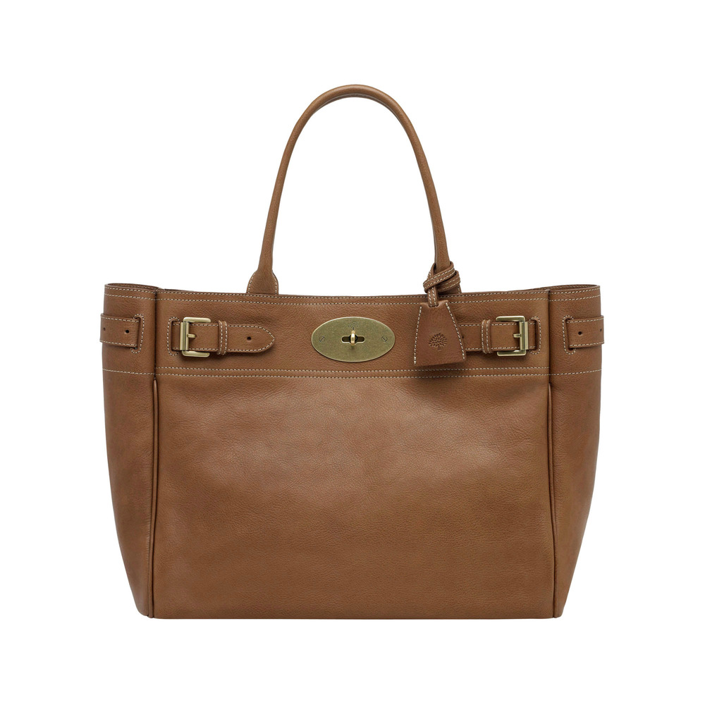 Mulberry Bayswater Tote in Brown | Lyst