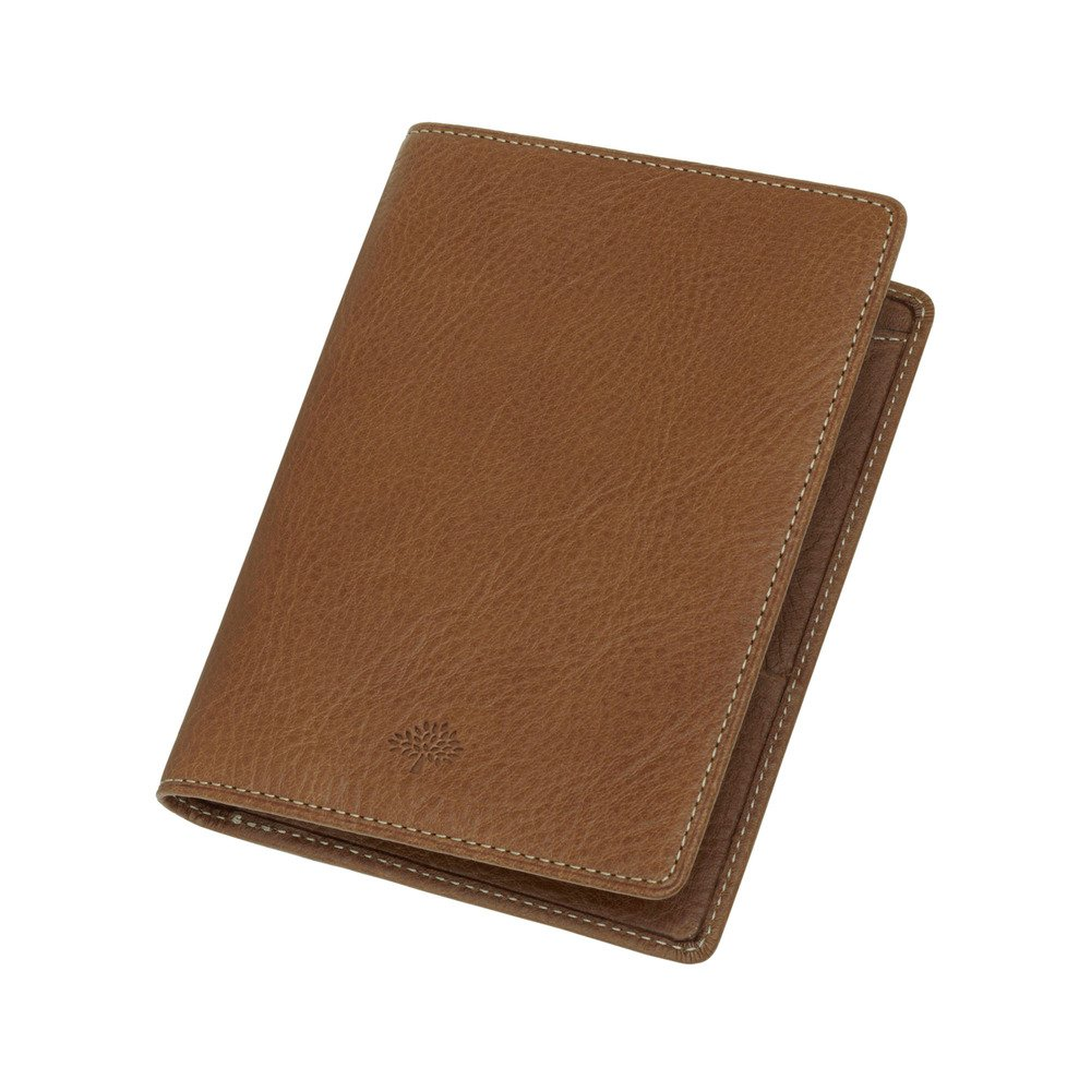 8aa556f2a94a Mulberry Passport Cover Wallet in Brown for Men - Lyst