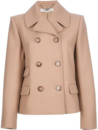 Stella McCartney Double breasted Coat - Lyst