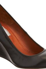 Lanvin Wedge Pump - Lyst